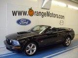2007 Black Ford Mustang GT Premium Convertible #31643852