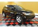 2005 Super Black Nissan Murano SL #31644157