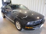 2007 Black Ford Mustang V6 Deluxe Coupe #31644172