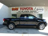 2010 Black Toyota Tundra TRD Rock Warrior Double Cab 4x4 #31643646