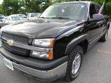 2005 Black Chevrolet Silverado 1500 Z71 Extended Cab 4x4 #31644185