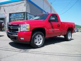2010 Victory Red Chevrolet Silverado 1500 LT Regular Cab 4x4 #31643677
