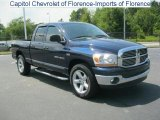 2006 Patriot Blue Pearl Dodge Ram 1500 SLT Quad Cab #31644357