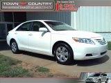2008 Super White Toyota Camry LE #31644199