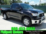 2007 Black Toyota Tundra TSS Texas Edition Regular Cab #31643891