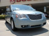2010 Clearwater Blue Pearl Chrysler Town & Country Touring #31644219