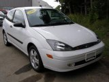 Cloud 9 White Ford Focus in 2003