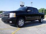 2010 Black Chevrolet Silverado 1500 LT Crew Cab #31643924
