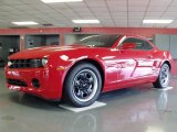 2010 Victory Red Chevrolet Camaro LS Coupe #31643925