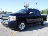 2010 Imperial Blue Metallic Chevrolet Silverado 1500 LS Crew Cab #31643928