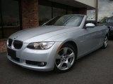 2007 Titanium Silver Metallic BMW 3 Series 328i Convertible #31643743
