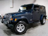 2006 Midnight Blue Pearl Jeep Wrangler Unlimited 4x4 #31643751