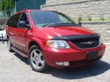 2003 Inferno Red Pearl Chrysler Town & Country Limited AWD #31644468