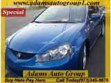 2005 Vivid Blue Pearl Acura RSX Type S Sports Coupe #31644000
