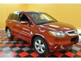 2008 Moroccan Red Pearl Acura RDX  #31712540