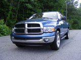 2005 Atlantic Blue Pearl Dodge Ram 1500 SLT Quad Cab #31712635