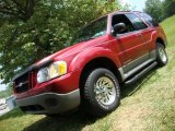 2001 Toreador Red Metallic Ford Explorer Sport 4x4 #31712251