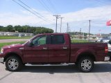 2006 Dark Toreador Red Metallic Ford F150 Lariat SuperCrew 4x4 #31712694