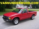 1996 Chevrolet S10 Apple Red