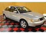 2000 Satin Silver Metallic Volkswagen Passat GLX V6 Sedan #31712560