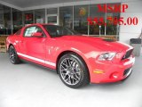 2011 Race Red Ford Mustang Shelby GT500 SVT Performance Package Coupe #31712383