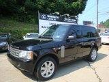2007 Java Black Pearl Land Rover Range Rover HSE #31712401