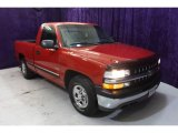 2002 Victory Red Chevrolet Silverado 1500 Work Truck Regular Cab #31712426
