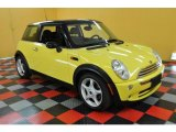2005 Liquid Yellow Mini Cooper Hardtop #31712583