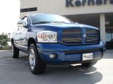 2008 Electric Blue Pearl Dodge Ram 1500 Sport Quad Cab 4x4 #31712603