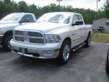 2010 Stone White Dodge Ram 1500 Big Horn Quad Cab 4x4 #31740535