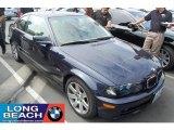 2003 Orient Blue Metallic BMW 3 Series 325i Coupe #31743302