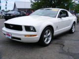 2005 Performance White Ford Mustang V6 Premium Coupe #31743003