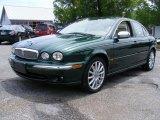 2007 Jaguar X-Type Jaguar Racing Green Metallic