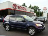 2007 Royal Blue Pearl Honda CR-V EX 4WD #3172366