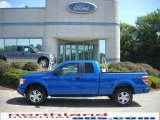 2010 Blue Flame Metallic Ford F150 STX SuperCab 4x4 #31743050