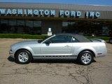 2006 Satin Silver Metallic Ford Mustang V6 Premium Convertible #31743390