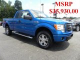 2010 Blue Flame Metallic Ford F150 STX SuperCab 4x4 #31743206