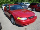 1999 Laser Red Metallic Ford Mustang V6 Coupe #31743236