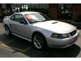 2001 Silver Metallic Ford Mustang V6 Coupe #31743264
