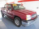 2005 Sport Red Metallic Chevrolet Silverado 1500 Z71 Crew Cab 4x4 #31791045