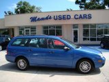 2005 French Blue Metallic Ford Focus ZXW SES Wagon #31791451