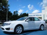 2010 White Suede Ford Fusion SE #31791233