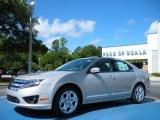 2010 Smokestone Metallic Ford Fusion SE #31791239