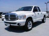 2007 Bright White Dodge Ram 1500 SLT Quad Cab 4x4 #31791665
