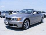 2004 Silver Grey Metallic BMW 3 Series 330i Convertible #31791667