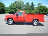2010 GMC Sierra 2500HD Work Truck Regular Cab 4x4 Chassis Commercial Data, Info and Specs