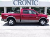 2010 Inferno Red Crystal Pearl Dodge Ram 1500 TRX Quad Cab #31791332