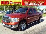 2008 Sunburst Orange Pearl Dodge Ram 1500 Big Horn Edition Quad Cab #31791736