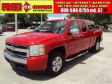 2007 Victory Red Chevrolet Silverado 1500 LT Extended Cab #31791738