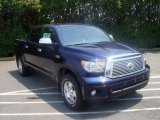 Nautical Blue Metallic Toyota Tundra in 2010